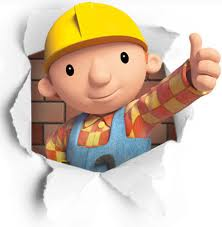 Bob the Builder giving the politician's classic thumbs up